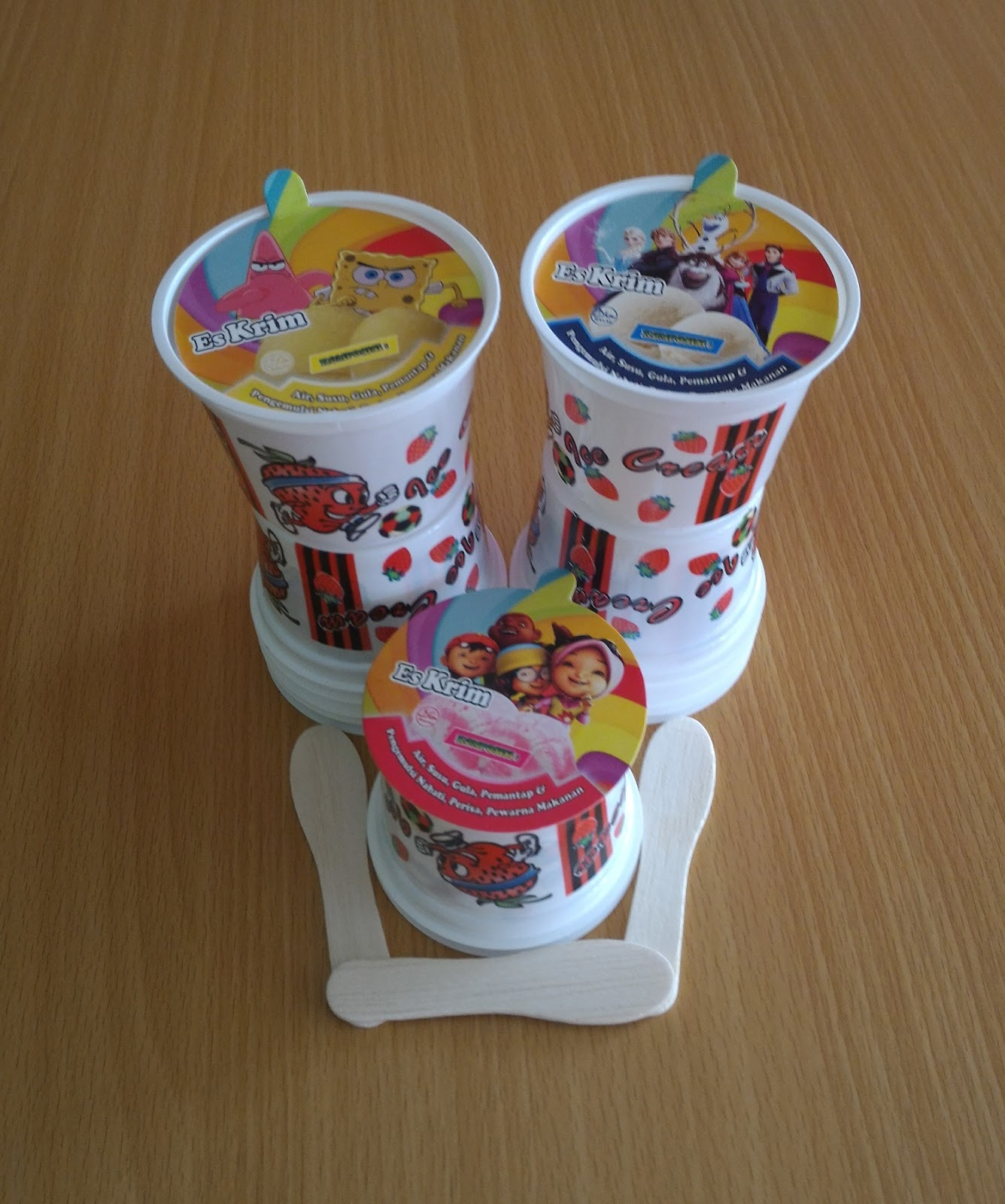 Image result for cup ice cream bergambar