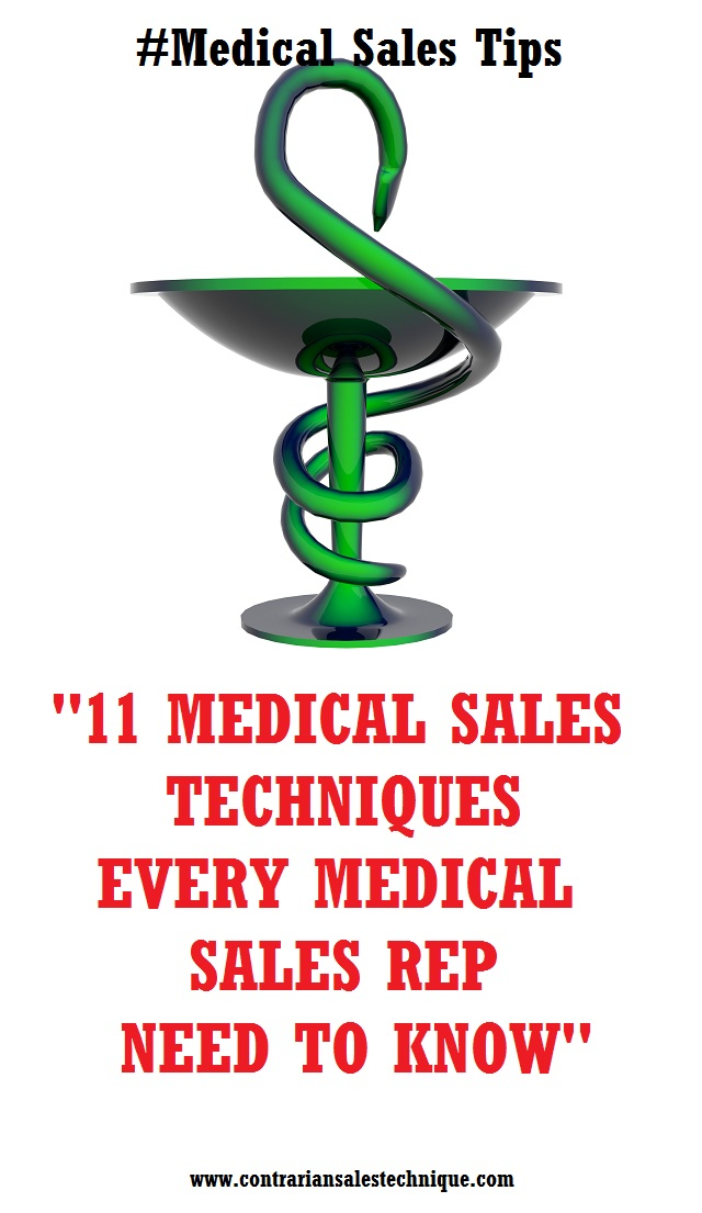 11 medical sales techniques medical rep to know