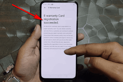 How To Register Oppo E-Warranty Card Succeeded With Ooredoo SimCard