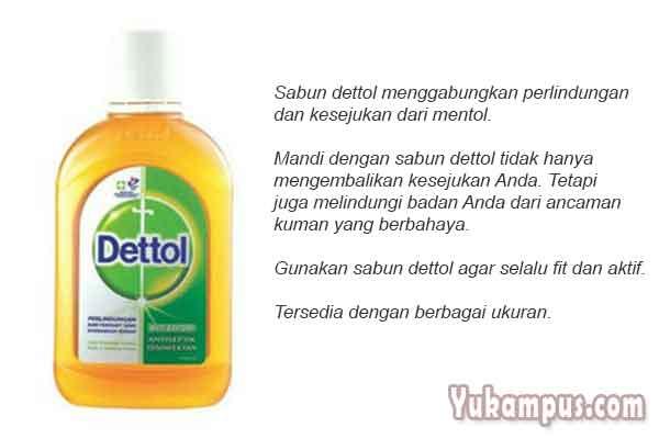 6 Contoh Iklan Produk Sabun Mandi Dan Cuci Yukampus