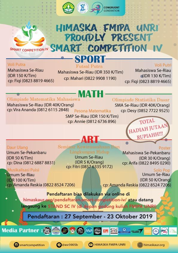 SMART COMPETITION IV INFORMATION