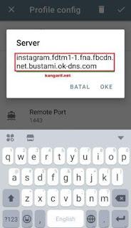 Cara Membuat Config Shadowsocks by.U Topping Instagram