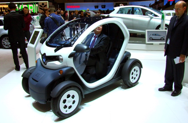 Renault Twizy Urban at Geneva 2011