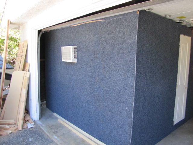 DAWBOX Soundproof Drum Room: Carpet Day