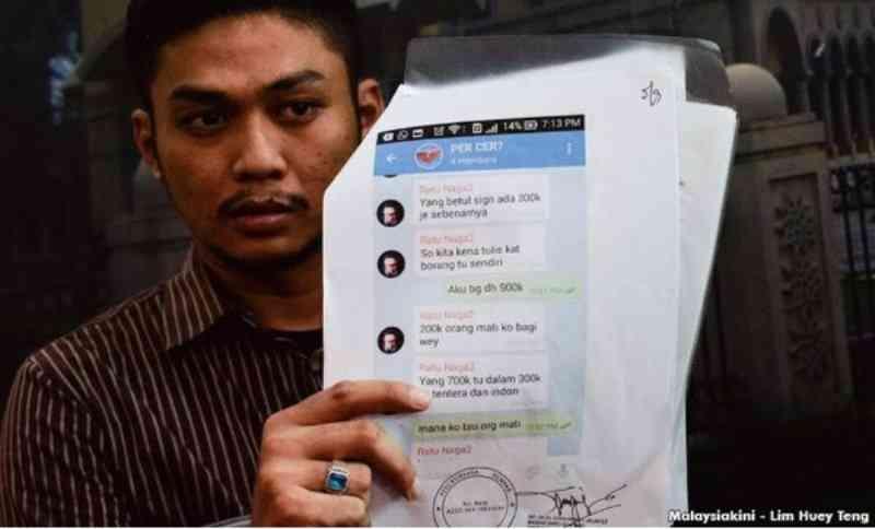 Azharuddin-Ratu-Naga-jual-tandatangan-palsu-Deklarasi-Rakyat