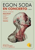 Concierto de Egon Soda y Laredo en Sala el Sol