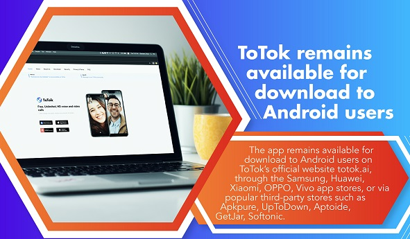 ToTok Android Availability
