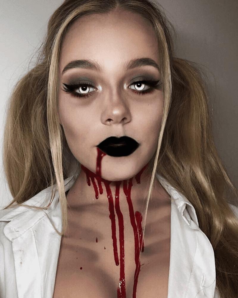Maquiagem Zumbi Halloween
