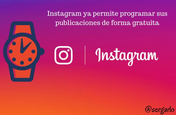 Instagram, programar, gratis, publicaciones, redes sociales, social media