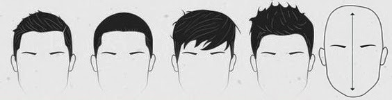 OBLONG FACE SHAPE HAIRCUT