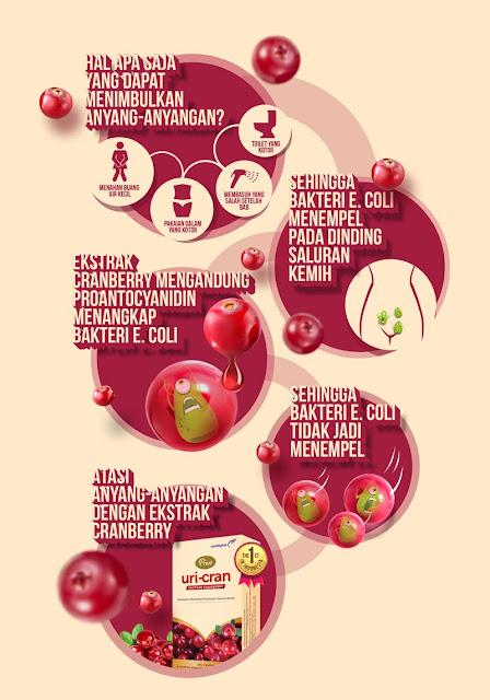 Manfaat ekstrak Cranberry