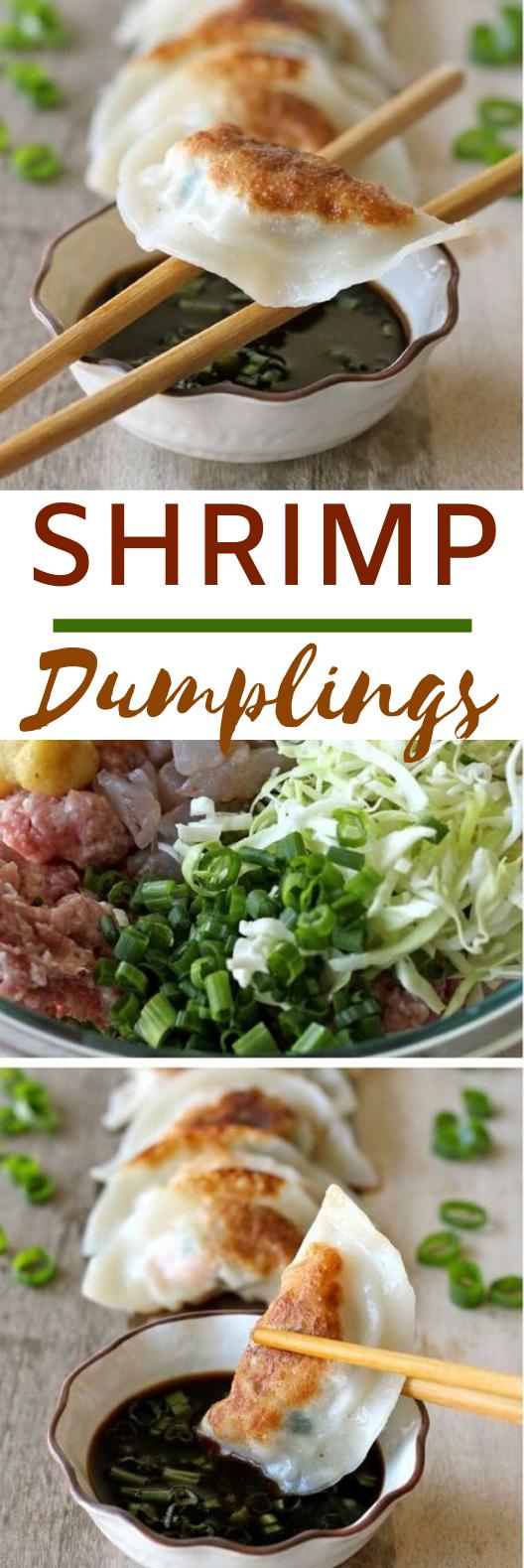 Shrimp Dumplings #dinner #chinese #recipes #shrimp #weeknight