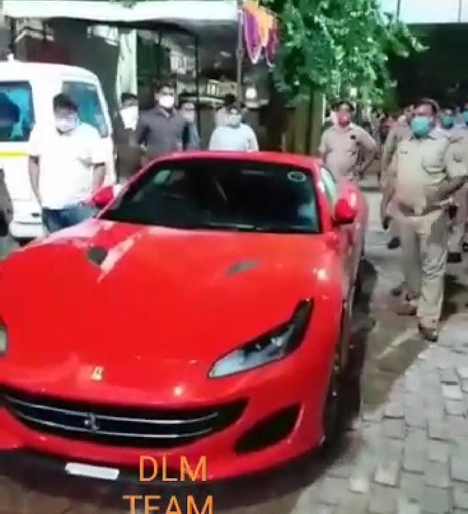 कानपुर का मशहूर पान मसाला व्यवसायी अपनी फरारी कार से सड़क पर कर रहा था स्टंट, पुलिस ने भेजा जेल