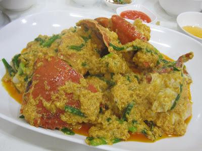 Bangkok, Phaiboon Seafood, curry crab