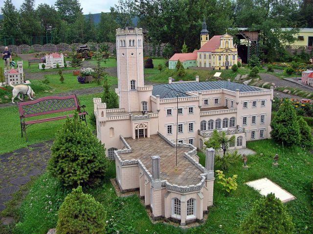 pałac, Fryderyk Wilhelm III, miniatury