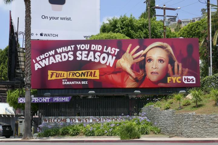Full Frontal Samantha Bee 2020 Emmy FYC billboard