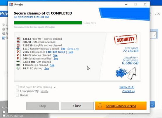 تسريع الكمبيوتر وحل مشاكل الويندوز مع برنامج Privazer المجاني