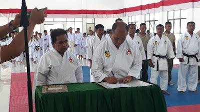 Peresmian Dojo Institut Karatedo Indonesia (INKAI) dan Pengukuhan Pengurus Ranting Khusus Kodim
