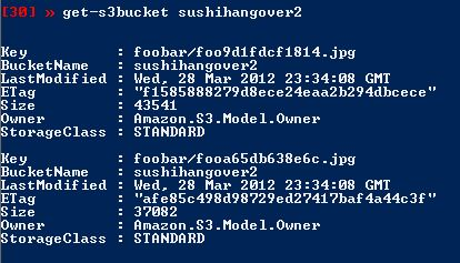 PowerShell : Delete a file from an S3 Bucket | SushiHangover