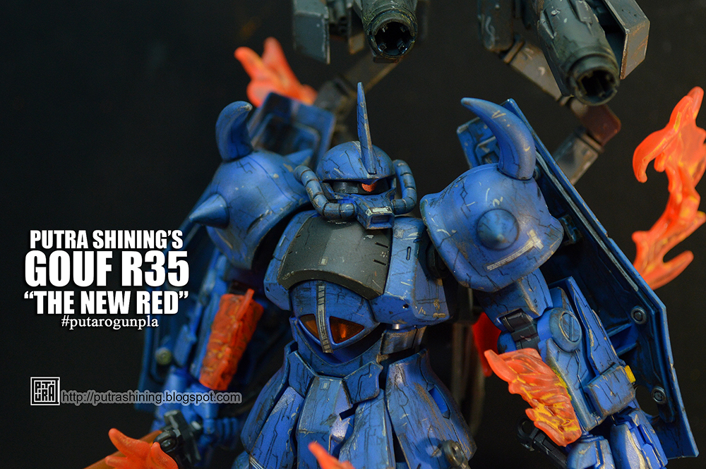 HGBF 1/144 GOUF R35 from Gundam Model Kit Contest 2015 Malaysia by Putra Shining.