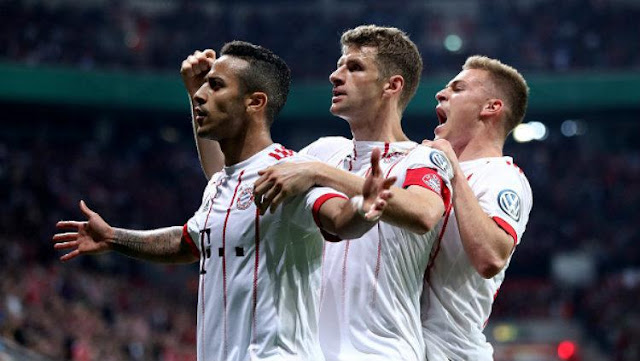 Cuplikan Gol Bayern Munchen 6-2 Leverkusen | DFB POKAL