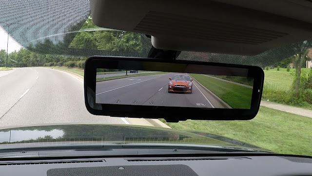 Nissan Intelligent Rear View Mirror