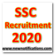 SSC_Recruitment_2020