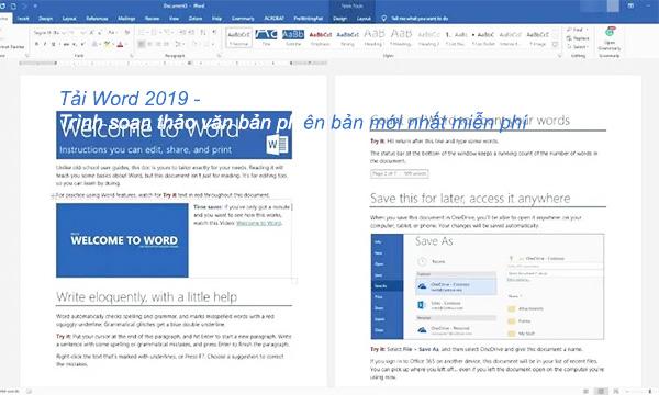 Download Word 2019 + Hướng dẫn cài đặt chi tiết mới nhất b