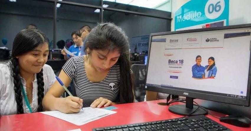 BECA 18: Más de 96% de talentos ganadores estudiará en universidades de prestigio - PRONABEC - www.pronabec.gob.pe