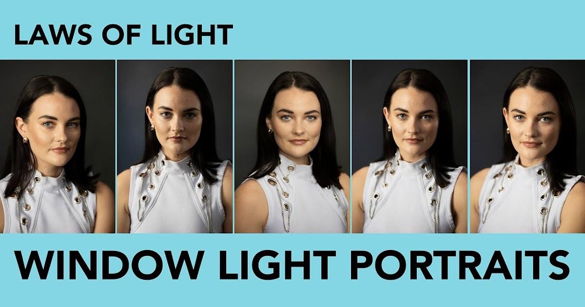 5 Window Light Portrait Positions