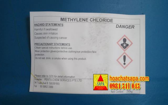 Dung môi Methylene Chloride (MC) - Dichloromethane