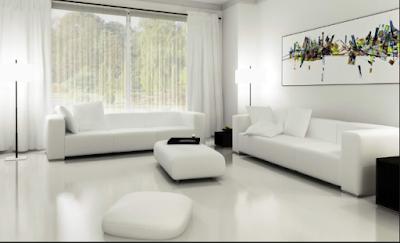Inspirasi  Lantai Granit  Rumah Minimalis 5