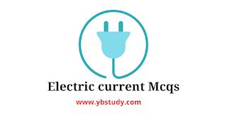 electric current mcqs