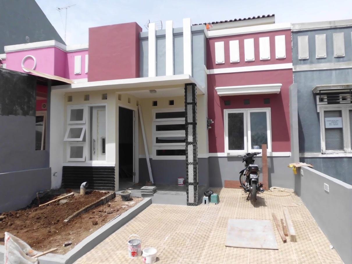 Hasil proyek Renovasi pengembangan rumah 1 lantai menjadi 1 1/2 lantai milik ibu Erna di Nuansa Hijau Ciomas, Bogor tahun 2010