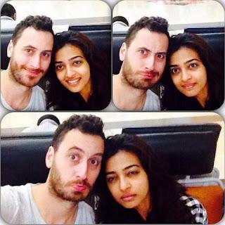Radhika Apte with Benedict Taylor