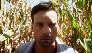 Louis (Nathan Wilson) gets lost in a cornfield in Loon Lake (2019)