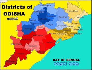 odisha map new