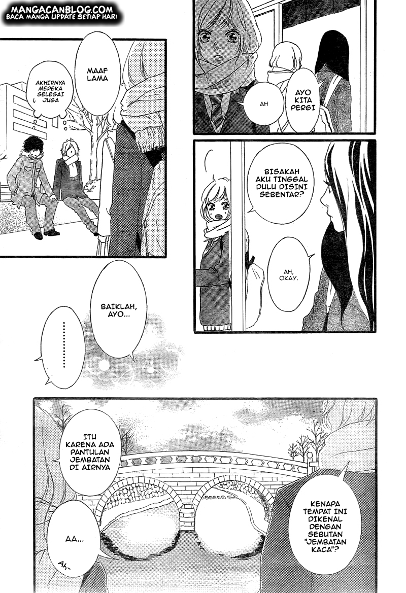 Ao Haru Ride Chapter 38-9
