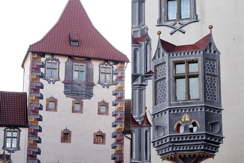 Scheinarchitektur, Hohes Schloss Füssen