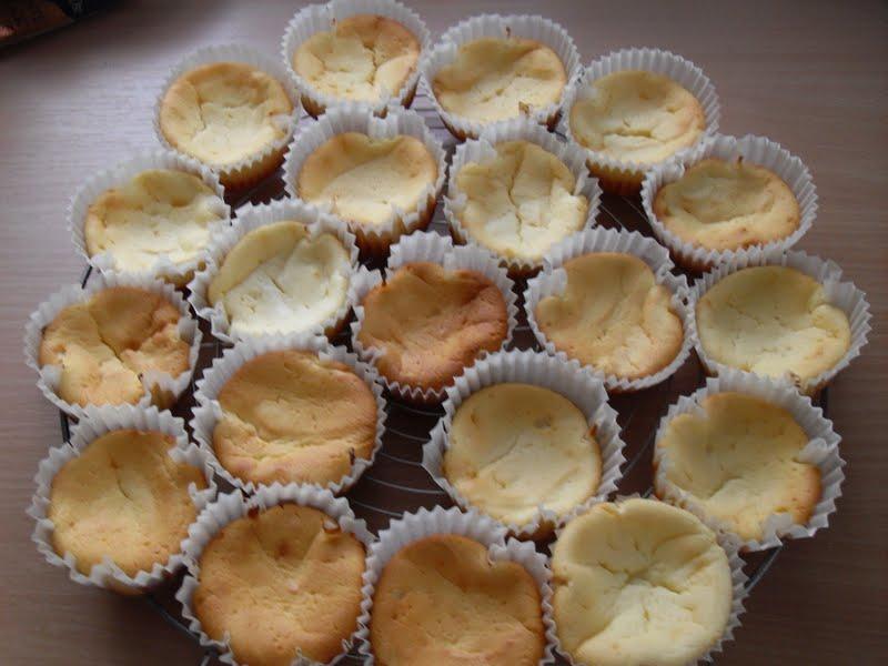 Sanna´s Hexenküche: Käsekuchen-Muffins