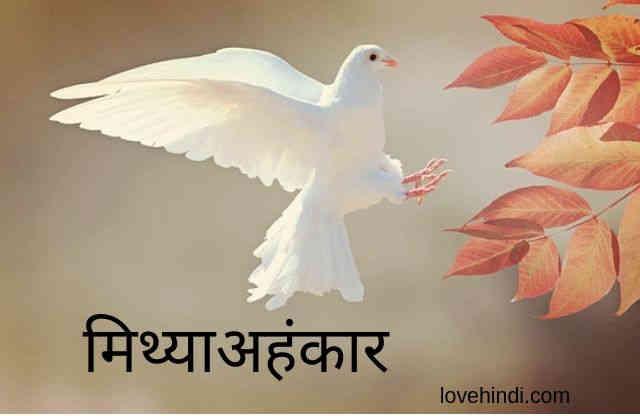 hindi kahani- mithya ahankar