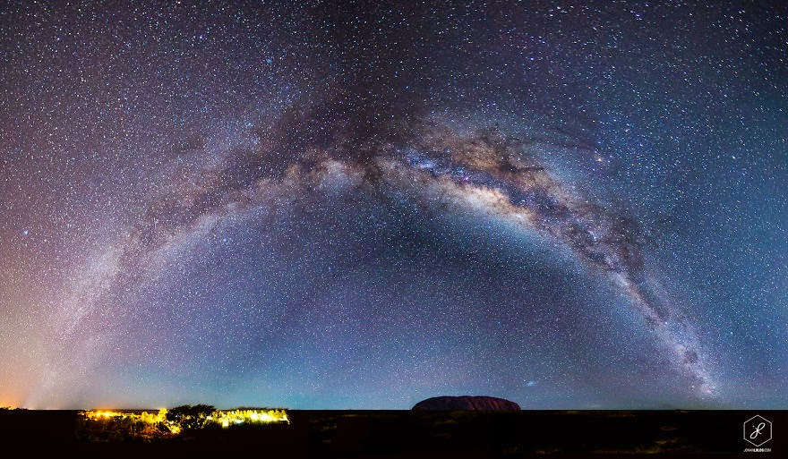 Uluru, NT  - Man Travels 40,000km Around Australia and Brings Back These Stunning Photos