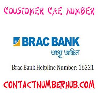 BRAC Bank Customer Care Number