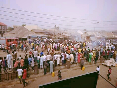 News:-Bida Committee office on fire By unknown group of gangs