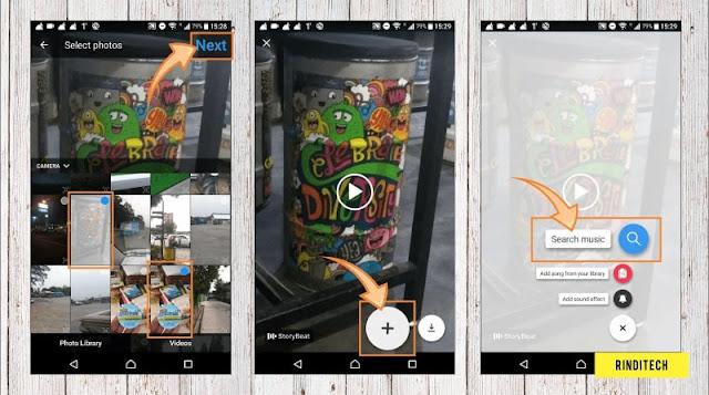 Cara Membuat Story Beat di Instagram