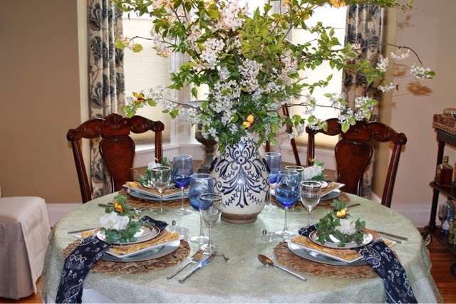 Spring Summer Tablescape