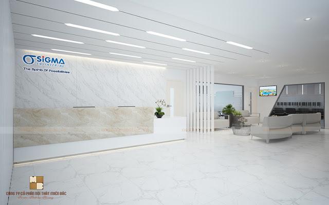 Quầy lễ tân đóng một vai trò vô cùng quan trọng cho mọi thiết kế nội thất văn phòng cũng như mang đến cho không gian sự sang trọng và tiện nghi nhấ