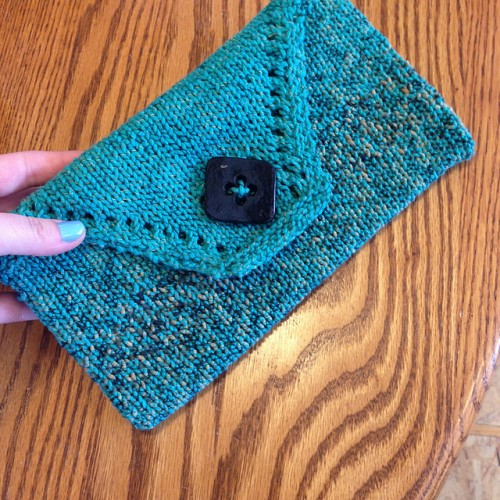 Envelope Clutch - Free Pattern