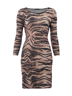 Animal Print Dress, Primark