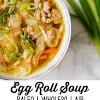 Paleo Egg Roll Soup (Whole30, AIP)